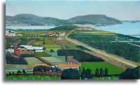 Cumae, panoram looking south 50 x 30ins (123 x 75cm)