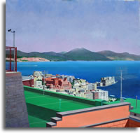 A Prospect of the Bay of Naples 60 x 50ins (150 x 123cm)